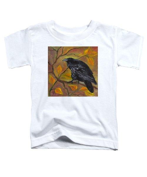 Raven On A Limb Toddler T-Shirt