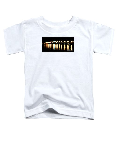 Bridge Of Lions -  Old City Lights Toddler T-Shirt