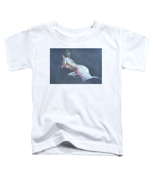 Reclining Study 4 Toddler T-Shirt