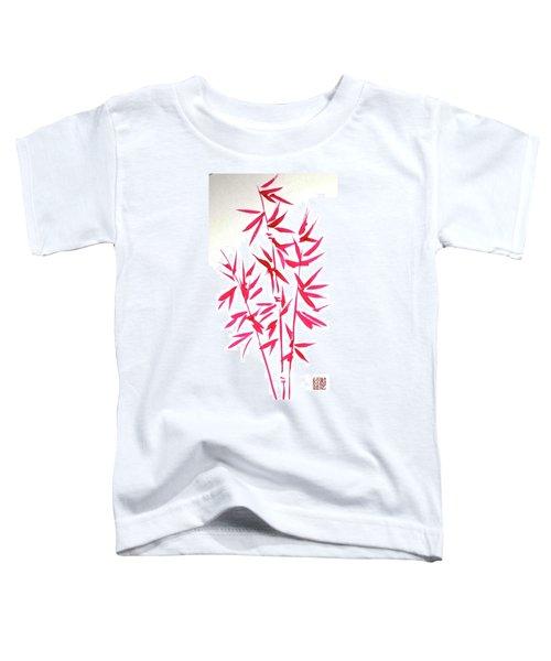 Red Bamboo Toddler T-Shirt