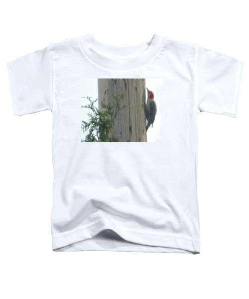 Red Bellied Woodpecker Toddler T-Shirt