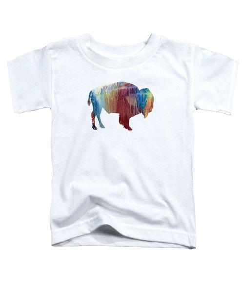 Red Bison Toddler T-Shirt
