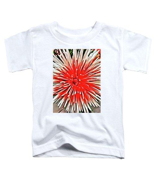 Red Burst Toddler T-Shirt