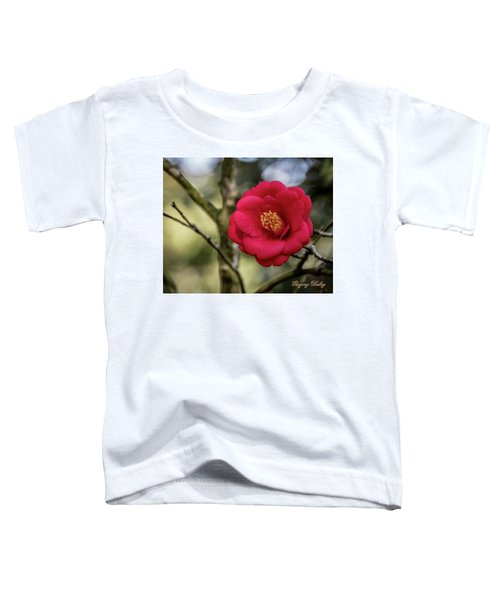 Red Camelia 05 Toddler T-Shirt