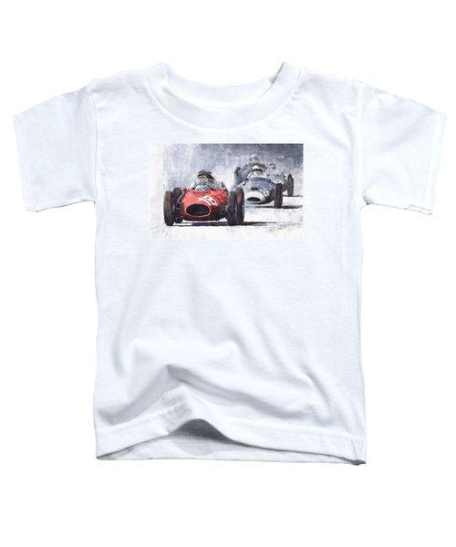 Red Car Ferrari D426 1958 Monza Phill Hill Toddler T-Shirt