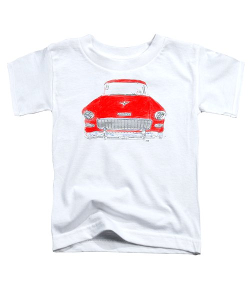 Red Chevy T-shirt Toddler T-Shirt