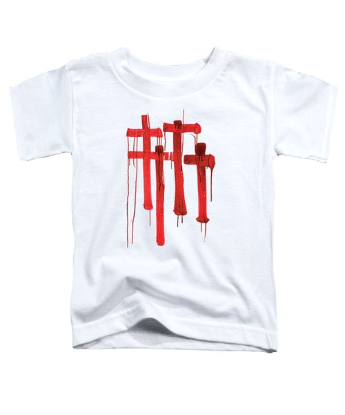 Red Crosses Toddler T-Shirt