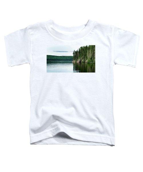 Red Lake Ontario Toddler T-Shirt