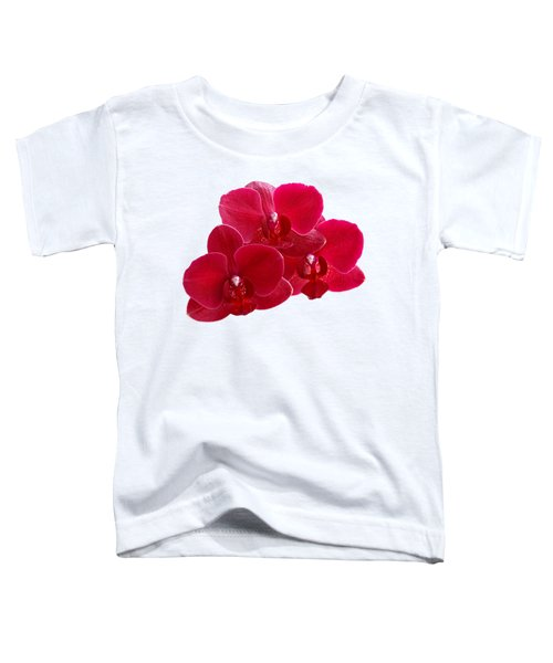 Red Orchid Trio Toddler T-Shirt