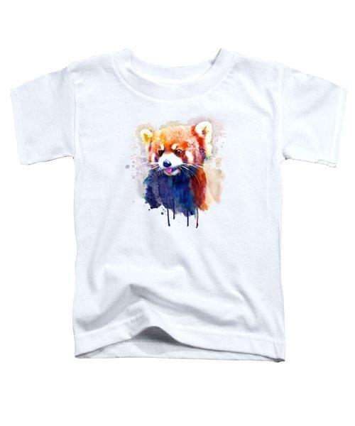Red Panda Portrait Toddler T-Shirt