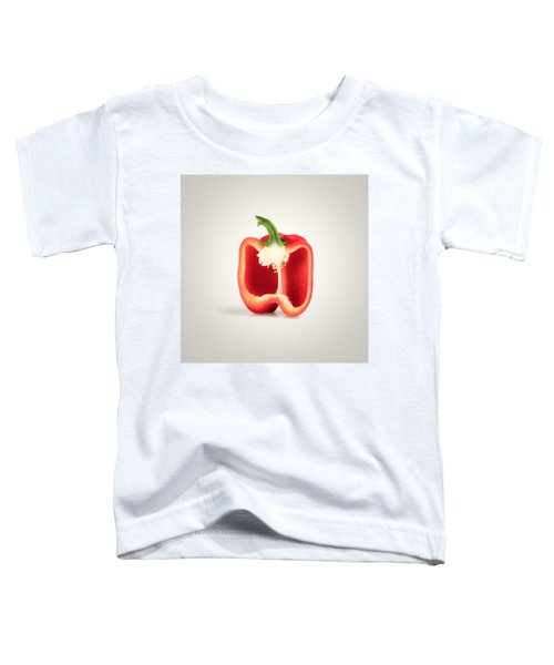 Red Pepper Cross-section Toddler T-Shirt
