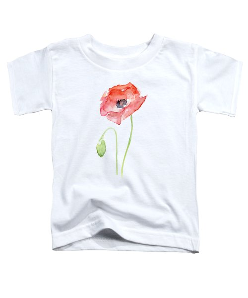 Red Poppy Toddler T-Shirt