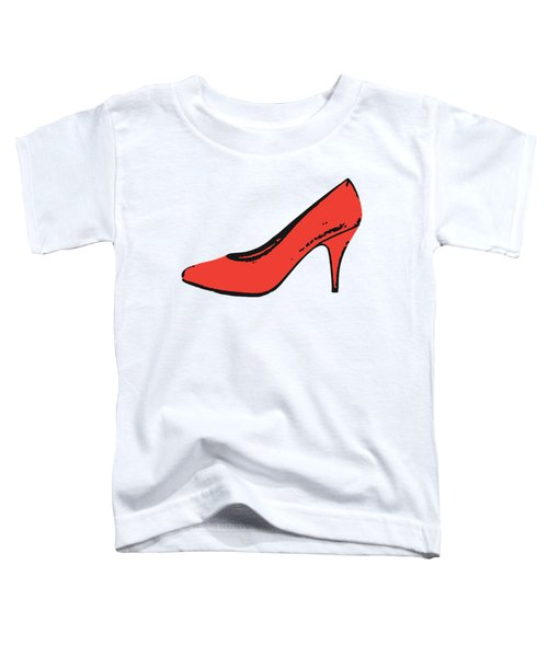 Red Pump Womans Shoe Tee Toddler T-Shirt