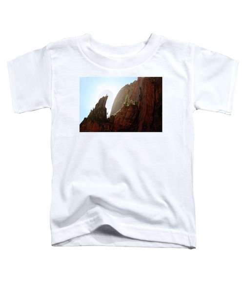 Red Rock At Zion Toddler T-Shirt