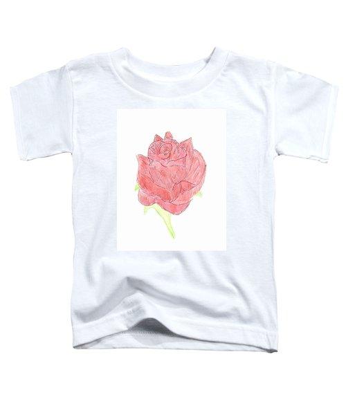 Red Rose Toddler T-Shirt