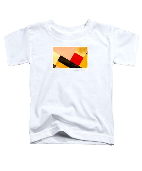 Red Square Toddler T-Shirt