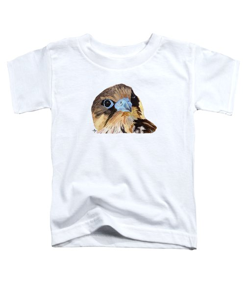 Red-tailed Hawk Portrait Toddler T-Shirt