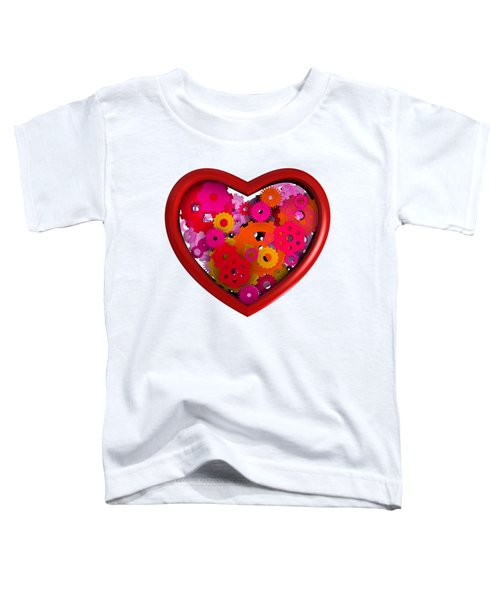 Redish Mechanical Love Toddler T-Shirt