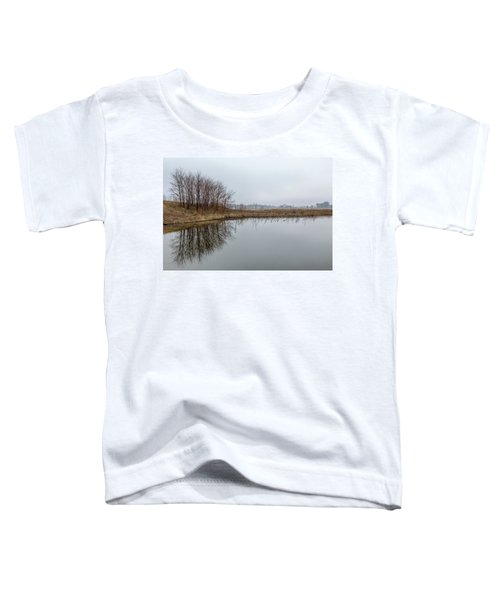 Reflected Trees Toddler T-Shirt