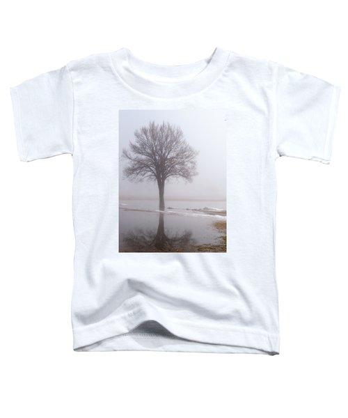 Reflecting Tree Toddler T-Shirt