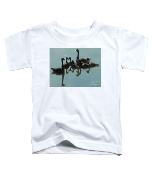 Reflection Of Geese Toddler T-Shirt