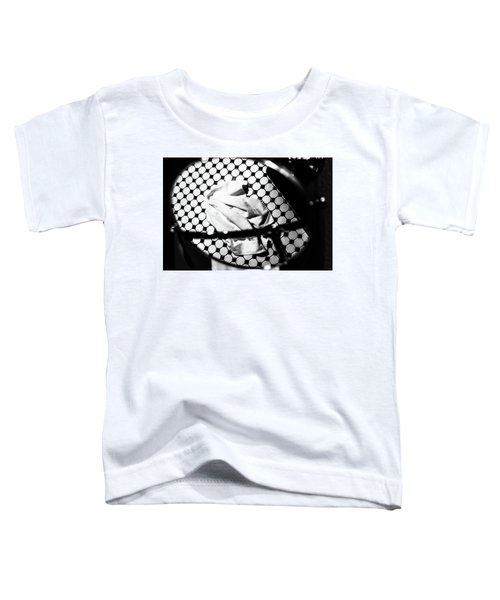Reflection Of Towel In Mirror Toddler T-Shirt