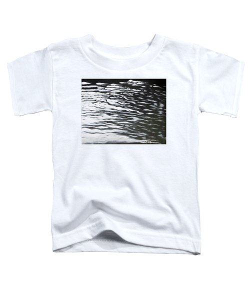 Toddler T-Shirt featuring the painting Reflections by Antonio Romero