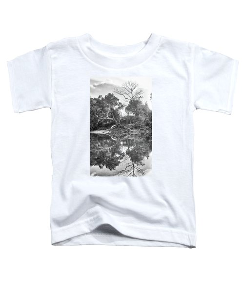 Reflections In Black And White Toddler T-Shirt