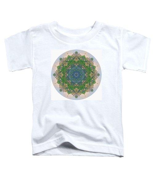 Reflections Of Life Mandala Toddler T-Shirt