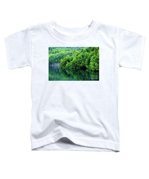 Reflections Of Plitvice, Plitvice Lakes National Park, Croatia Toddler T-Shirt
