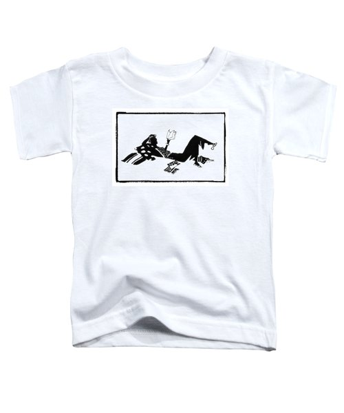 Relaxing With A Good Book Toddler T-Shirt
