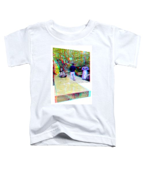 Renaissance Slide - Red-cyan 3d Glasses Required Toddler T-Shirt