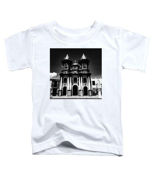 Replica Church In El Penol Toddler T-Shirt