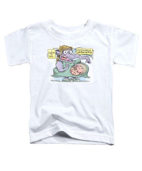 Republican Trump Abortion Toddler T-Shirt