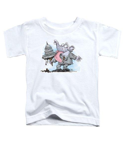 Republicans Lick Congress Toddler T-Shirt