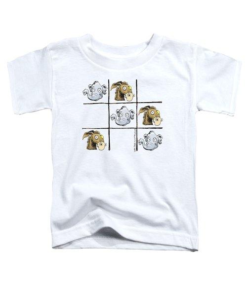 Republicans Win Tic Tac Toe Toddler T-Shirt