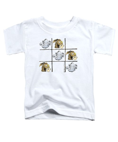 Republicans Win Tic Tac Toe Toddler T-Shirt