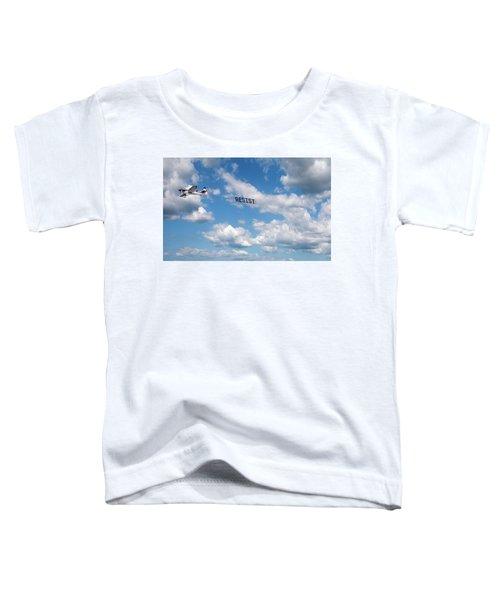 Resist Airplane Toddler T-Shirt