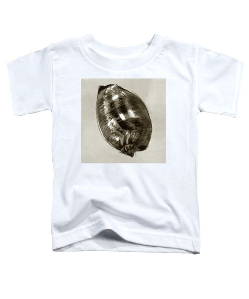 Toddler T-Shirt featuring the painting Reticulated Cowrie by Judith Kunzle