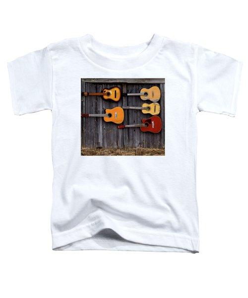 Retired Guitars  Toddler T-Shirt