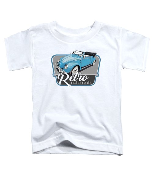 Retro Auto Club Toddler T-Shirt