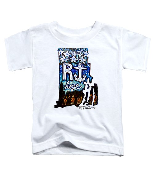 Rhode Island, Hope Toddler T-Shirt