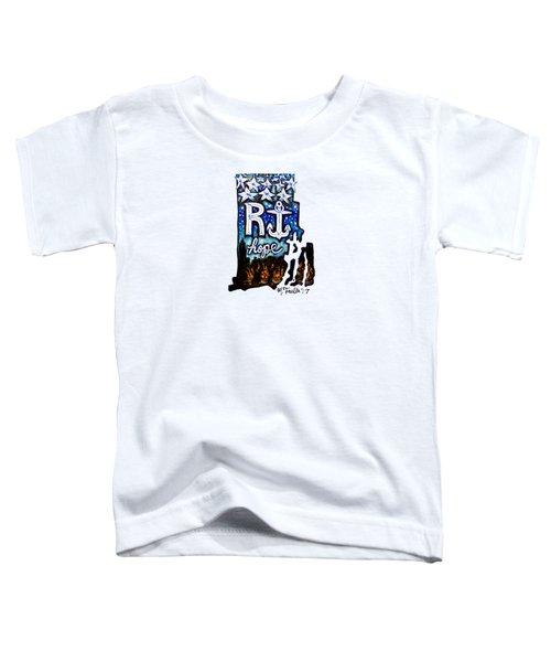 Rhode Island, Hope Toddler T-Shirt