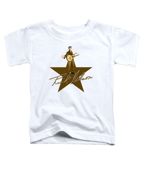 Ricky Nelson Toddler T-Shirt