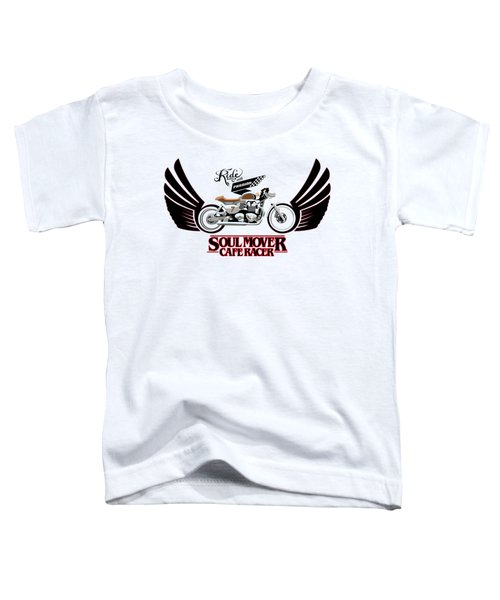 Ride With Passion Cafe Racer Toddler T-Shirt