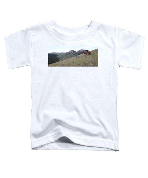 Ridge Riding Toddler T-Shirt
