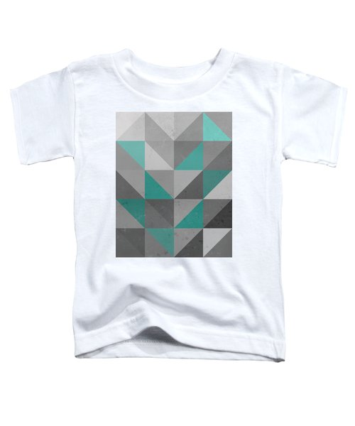 Right Angles Teal Toddler T-Shirt
