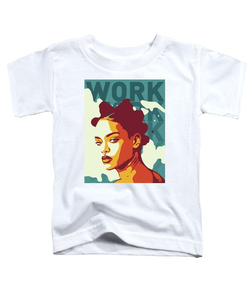 Rihanna Toddler T-Shirt by Greatom London