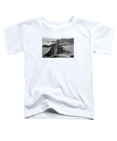 Rio De Janeiro - Sugar Loaf, Corcovado And Baia De Guanabara Toddler T-Shirt