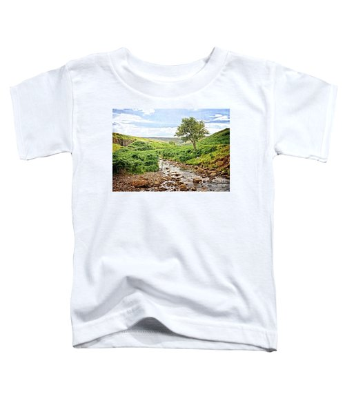 River And Stream In Weardale Toddler T-Shirt